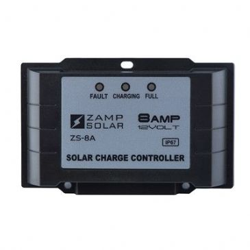 Zamp Solar 8 AMP 5 STAGE WATERPROOF CONTROLLER